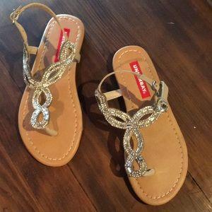 Girls dress sandles